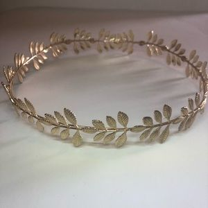 Gold Boho style headband so cute